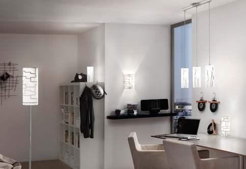 Trendiges Wohnerzimmer