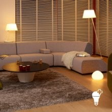 philips hue white wireless dimming kit led leuchtmittel mit fernbedienung philips hue. Black Bedroom Furniture Sets. Home Design Ideas