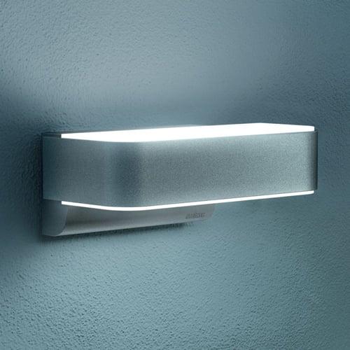 steinel l 810 led ihf design sensor au enleuchte silber steinel 110021226 click. Black Bedroom Furniture Sets. Home Design Ideas