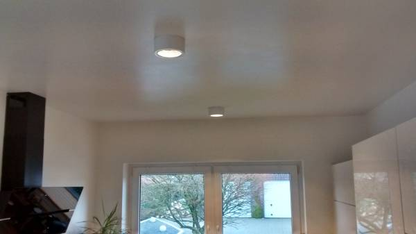 Deckenaufbaustrahler cl101 gx53 140mm slv click licht.de