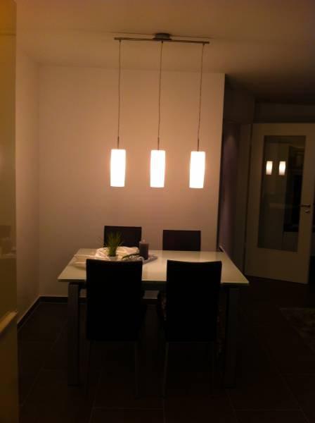 dreiflammige pendelleuchte troy 3 mit opalglas click. Black Bedroom Furniture Sets. Home Design Ideas
