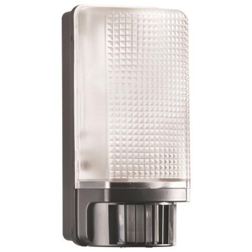 Sensor-Automatic-Leuchte mit Bewegungsmelder Schwarz