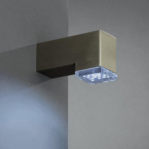 Massive LED-Wandaussenleuchte 3,2V Athos 167004710