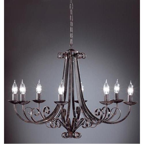 eleganter kronleuchter pisa 8flg honsel 19208 click. Black Bedroom Furniture Sets. Home Design Ideas