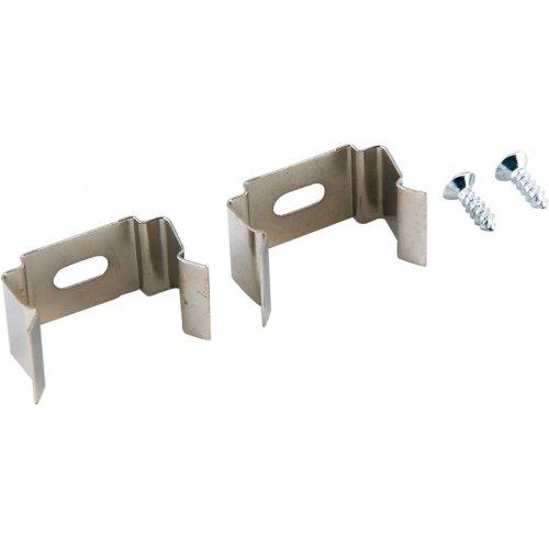 MONTAGECLIPS Artikeldaten: Material: Metall inkl. 2 Clips inkl. 2 Schrauben Montageclips aus Metall