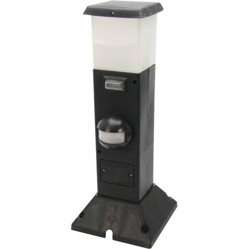 2 fach energieverteiler shanghai mit bewegungsmelder schaltbar heitronic 35111 click. Black Bedroom Furniture Sets. Home Design Ideas