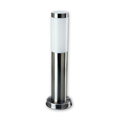 attraktive heitronic sockelleuchte larisa edelstahl heitronic 36386 click. Black Bedroom Furniture Sets. Home Design Ideas