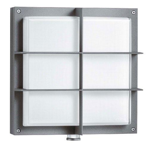 gediegene steinel au enleuchte l 691 led glas anthrazit. Black Bedroom Furniture Sets. Home Design Ideas