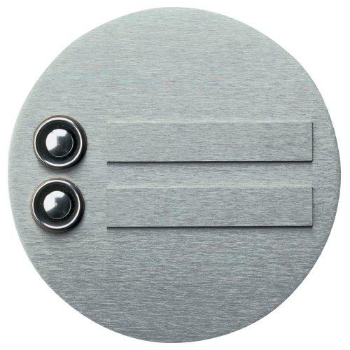 klingelplatte 2 fach edelstahl 690946 albert 690946. Black Bedroom Furniture Sets. Home Design Ideas