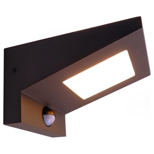 moderne led au enwandleuchte ireatta mit bewegungsmelder deko light 730395 click. Black Bedroom Furniture Sets. Home Design Ideas