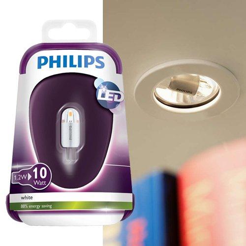 philips led capsule leuchtmittel g4 1 2w 10w 3000k. Black Bedroom Furniture Sets. Home Design Ideas
