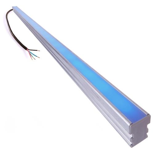 led stripe mit aluminiumprofil und zubeh r eloxiert ip67 2 meter rgb deko light 990029. Black Bedroom Furniture Sets. Home Design Ideas