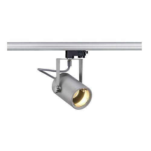 euro spot gu10 silbergrau inkl 3p adapter slv 153854 click. Black Bedroom Furniture Sets. Home Design Ideas