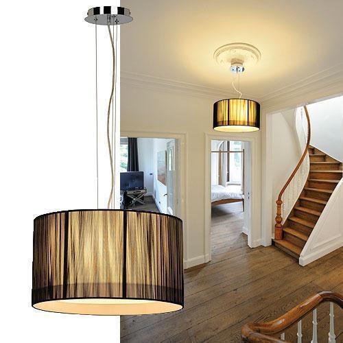 elegante lasson pendelleuchte pd 3 rund schwarz slv 155300 click. Black Bedroom Furniture Sets. Home Design Ideas