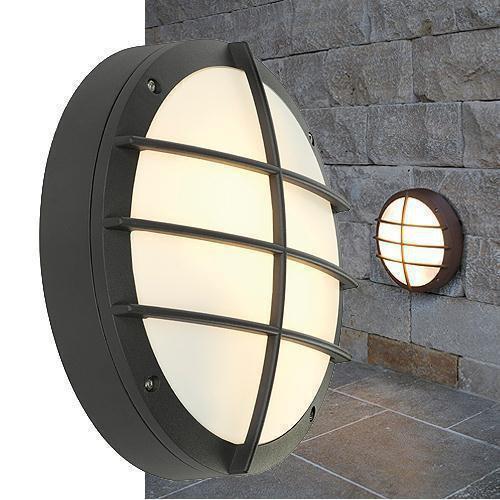 bulan grid wandleuchte rund anthrazit e27 max 2x25w slv 229085 click. Black Bedroom Furniture Sets. Home Design Ideas