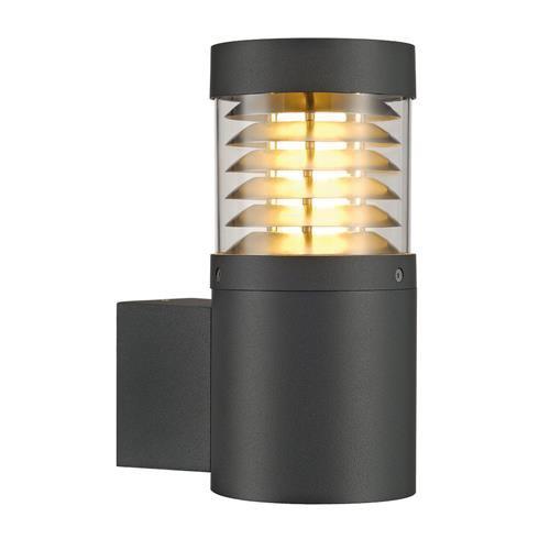 puristische f pol wall wandleuchte rund anthrazit slv 231585 click. Black Bedroom Furniture Sets. Home Design Ideas