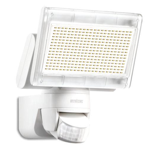 Steinel Innovativer XLED Home 1 Power-LED-Strahler in weiß, mit Bewegungsmelder, 4000K, 1020 Lumen und 14,8W