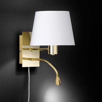 Wandlampen mit lesearm kaufen click - Leselampe am bett ...