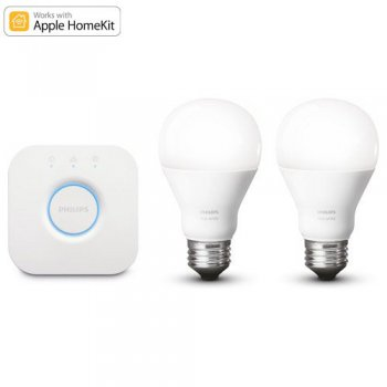 Philips Hue White LED E27 9.5W (60W), 2700K, dimmbar -...