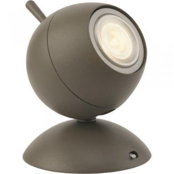 Trendige Philips LED-Tischleuchte  Retroplanet 1-flammig...