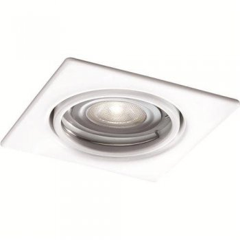 3er-Set Wei�er LED-Einbauspot Quartz