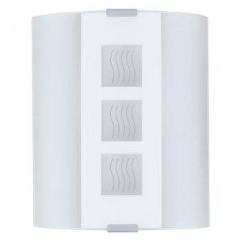schlichte leuchte aus satiniertem glas eglo 84026 click. Black Bedroom Furniture Sets. Home Design Ideas