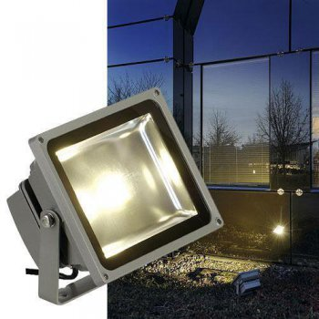 LED OUTDOOR BEAM, 30W, 130�, LED warmweiss