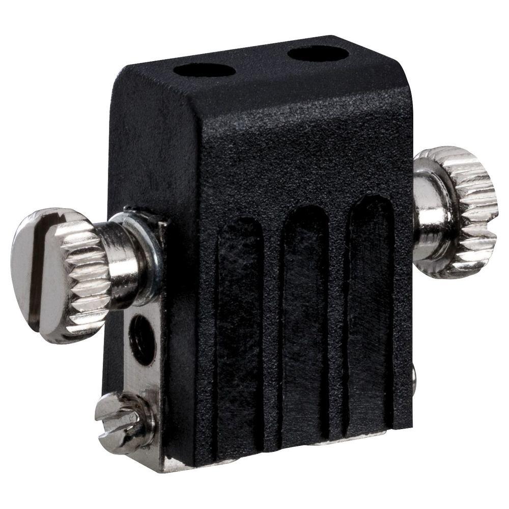 PAULMANN Wire System L&E Lampenhalter Seilsysteme Socket max.1x50W GX5,3 Schwarz 12V Met 97845 PL