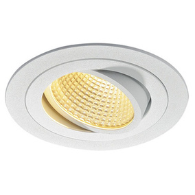 NEW TRIA, GU10 Downlight, rund, matt weiss