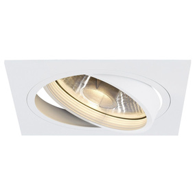 NEW TRIA I ES111 Downlight, eckig, matt weiss