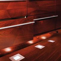 elegante bodeneinbauleuchte floor led quadro point deko. Black Bedroom Furniture Sets. Home Design Ideas