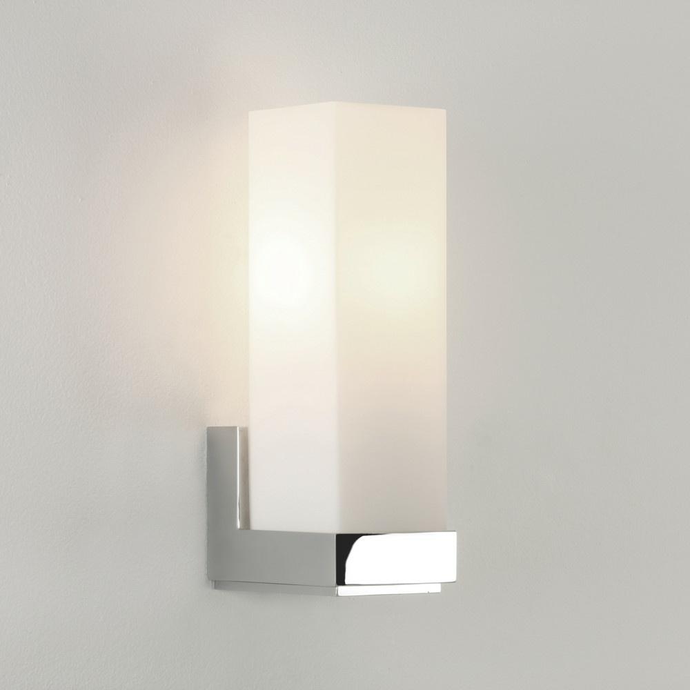 Badezimmer Wandleuchte Deckenleuchte Chrom E14 Glas IP44 Modern