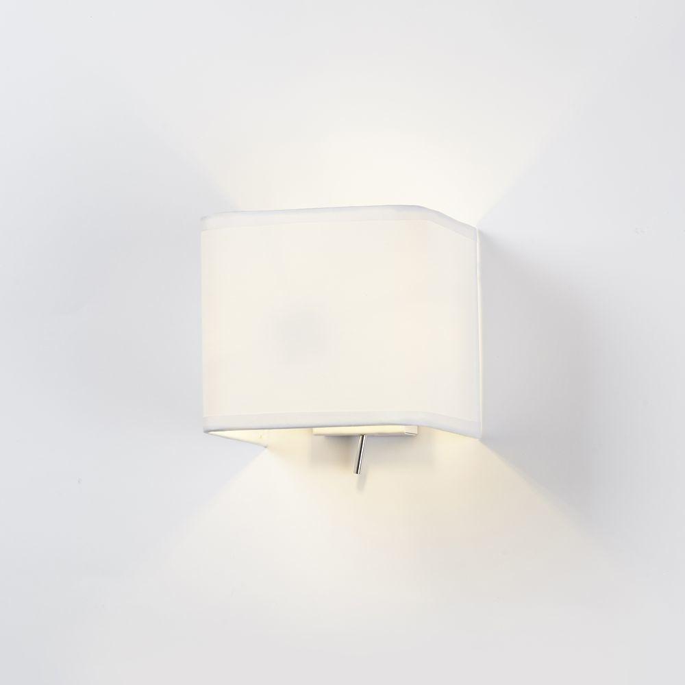 wandleuchte wei eckig. Black Bedroom Furniture Sets. Home Design Ideas