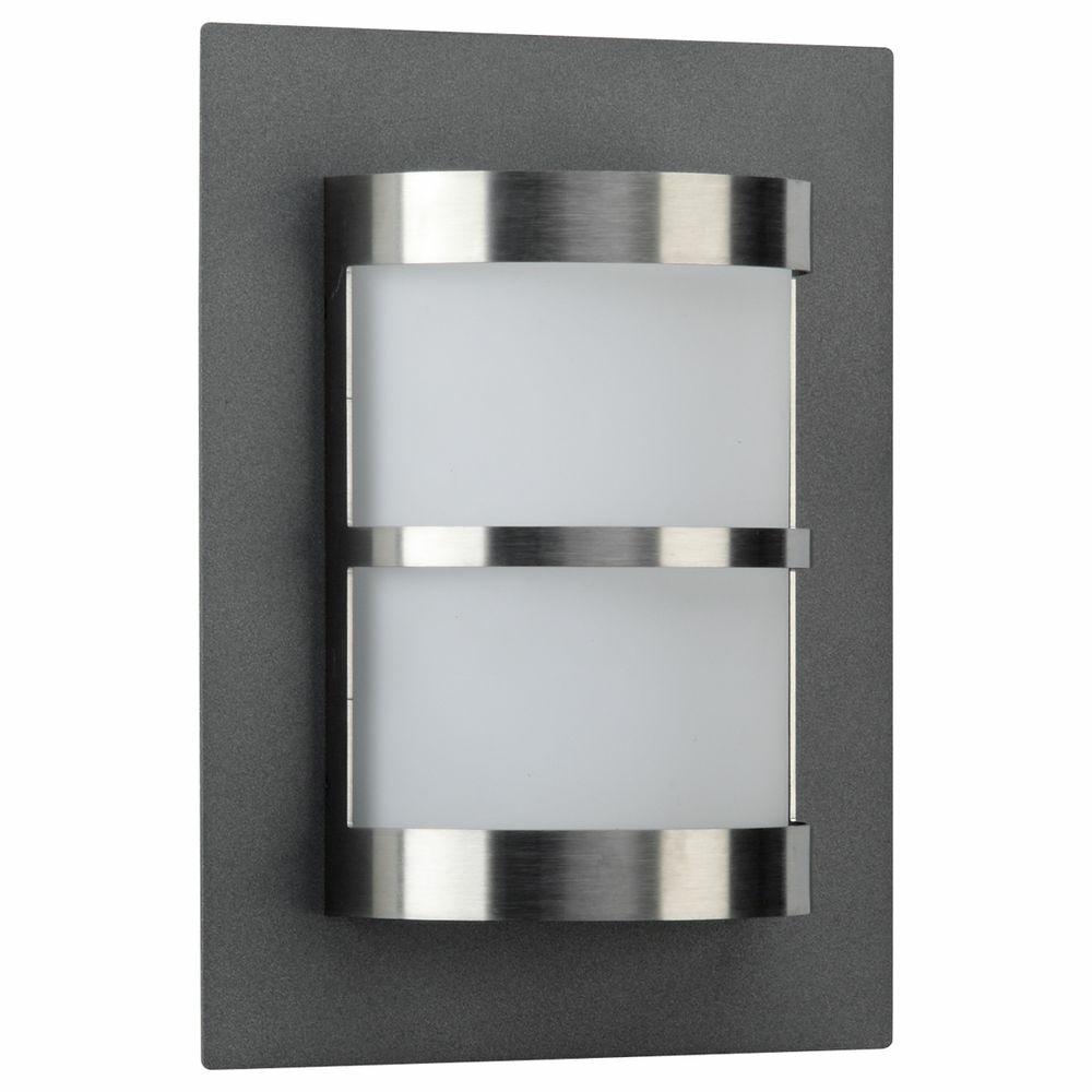 wandleuchte a 176934 ohne bewegungsmelder anthrazit opalglas ip44 mit mo albert 626224. Black Bedroom Furniture Sets. Home Design Ideas