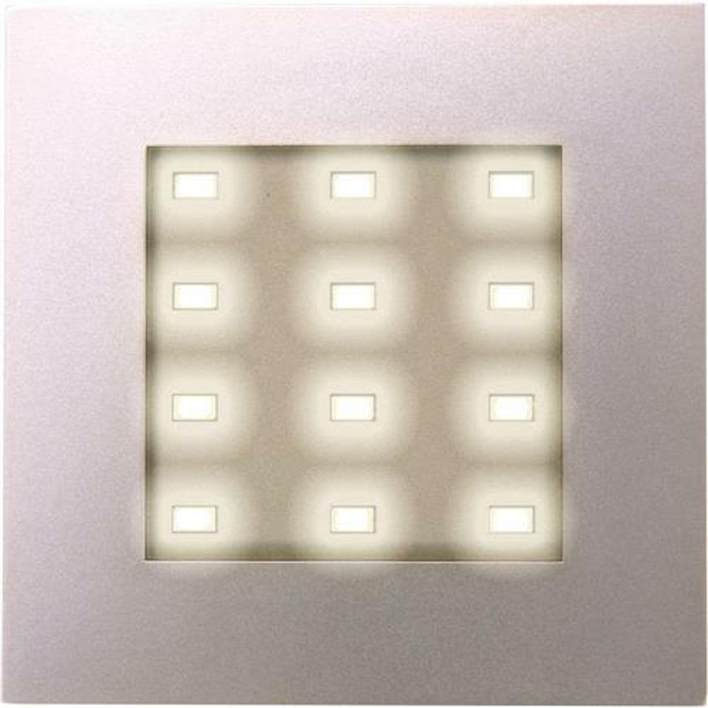 led einbaustrahler q78 edelstahloptik heitronic 23686 click. Black Bedroom Furniture Sets. Home Design Ideas