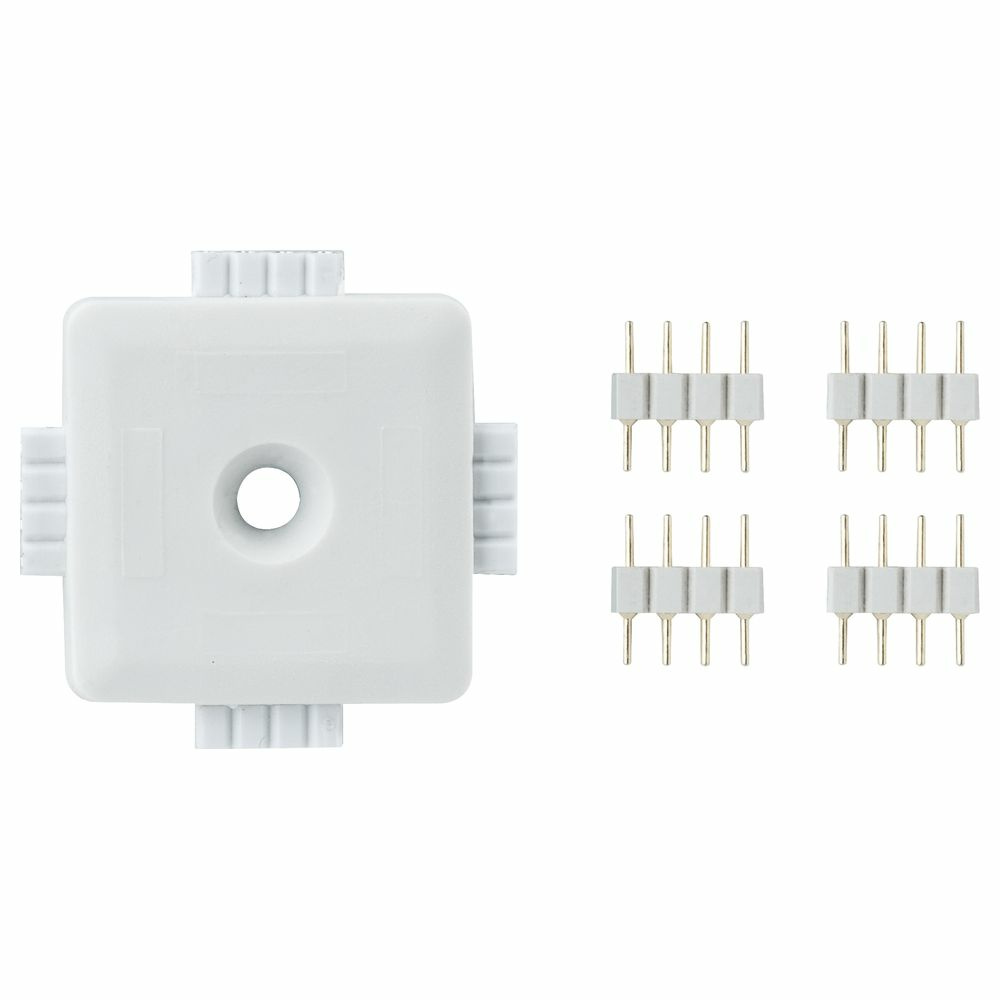 Function YourLED X-Connector Weiß, Kunststoff