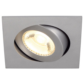 Dezentes SLV Downlight BOOST TURNO SQUARE silbergrau,...