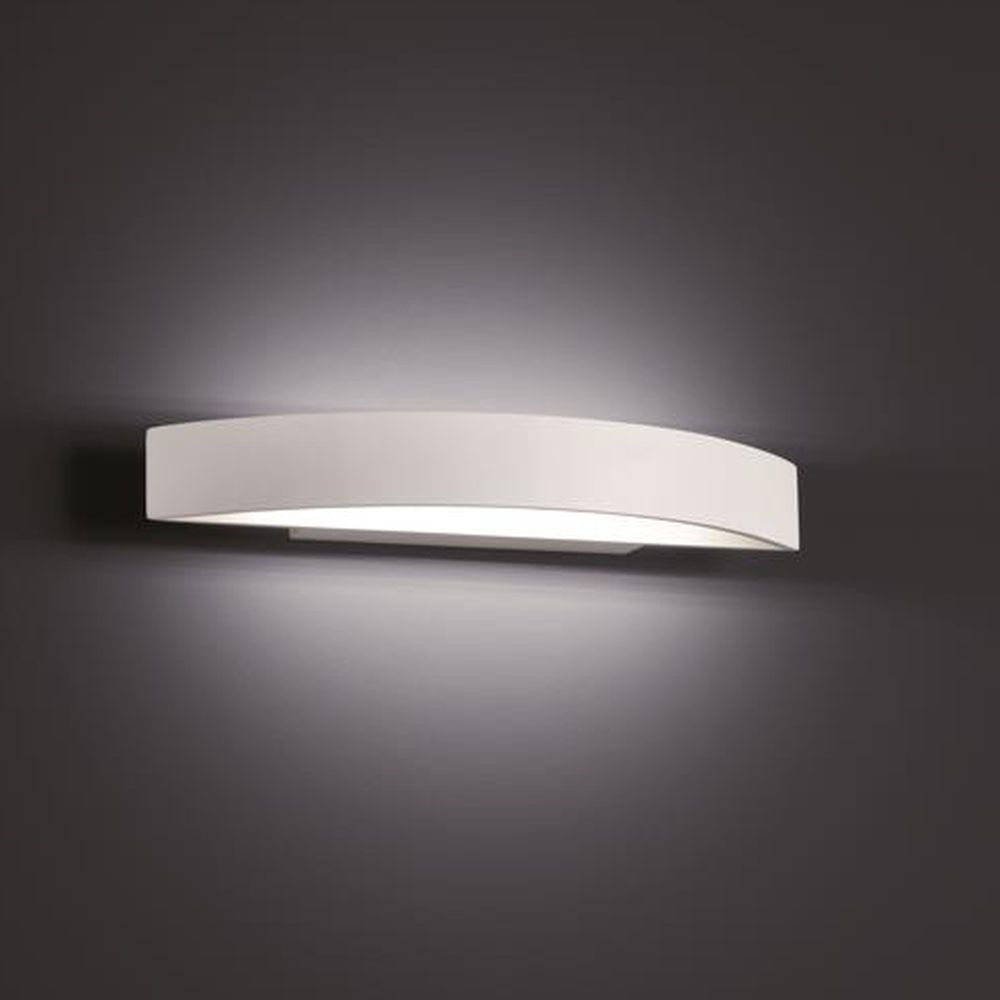 led wandleuchte yona in wei matt 12w 1320lm 50x375x115mm. Black Bedroom Furniture Sets. Home Design Ideas