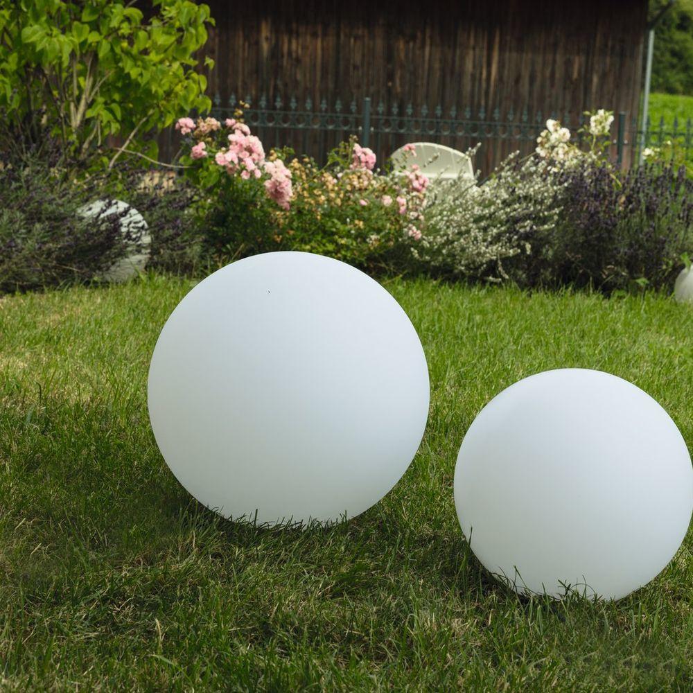 Leuchtkugel Gartenkugel Mundan E27 Heitronic Click Licht De