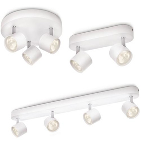Modischer Philips Star Deckenstrahler LED wei�...