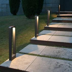 Beleuchtung Gartenweg | Wegeleuchten Pollerleuchten Gunstig Kaufen Click Licht De