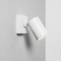 wandleuchte ascoli gu10 wei ohne schalter astro a. Black Bedroom Furniture Sets. Home Design Ideas