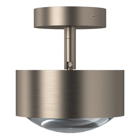 Modische Deckenleuchte Puk Maxx Turn LED in nickel-matt,...