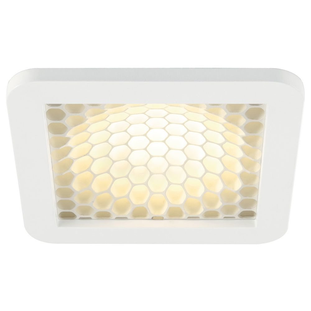 LED Panel 179x179mm Skalux Comb in weiss oder silbergrau