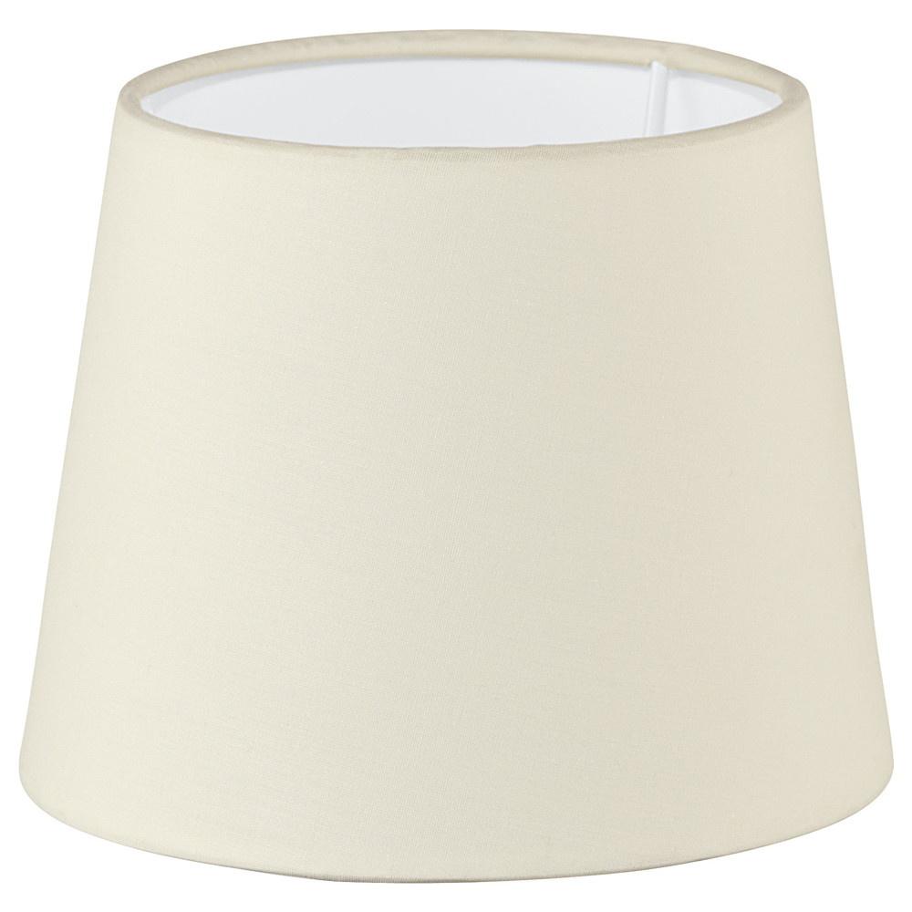 lampenschirm 1 1 vintage e14 e27 120 x 155 mm beige eglo. Black Bedroom Furniture Sets. Home Design Ideas