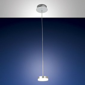 LED Pendelleuchte Dunk in transparent-satiniert und...