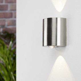 LED Wandleuchte Wales, Up- Down, warmweiß