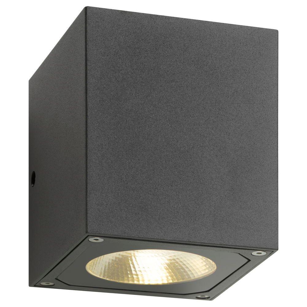 dezente up down wandleuchte led mit reflektor graphit lcd 5025 click. Black Bedroom Furniture Sets. Home Design Ideas