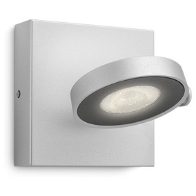 Dezenter LED Spot Clockwork in aluminium, dimmbar