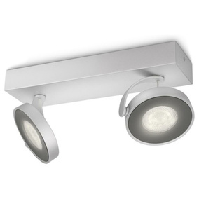 Dezenter LED Spot Clockwork in aluminium, dimmbar,...